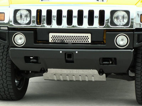Hummer H2 Grille Polished Front Lower 2003-2007