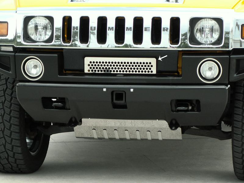 Hummer H2 Grille Polished Front Lower 2003-2007 American Car Craft