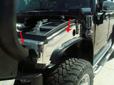 Hummer H2 Inner Fender Covers 2Pc Polished 2003-2007 American Car Craft