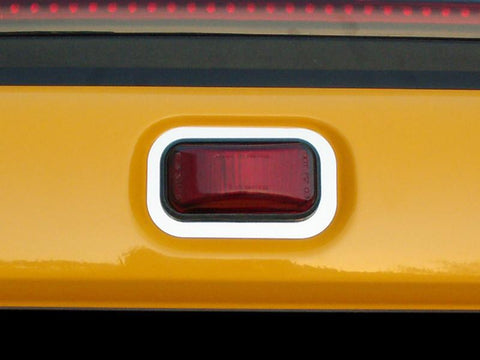 Hummer H2 Running Light Trim Polished Rear 3Pc 2003-2013