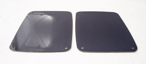 2007-18 Jeep Wrangler JK & JKU - Blackout Plexi Tail Light Covers 2 Pc