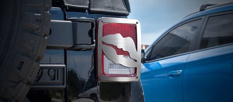 Jeep Wrangler Lips Tail Light Covers (07-18 JK and JKU)