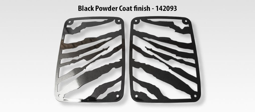 Jeep Wrangler Safari Tail Light Covers (07-18 JK and JKU) American Car Craft