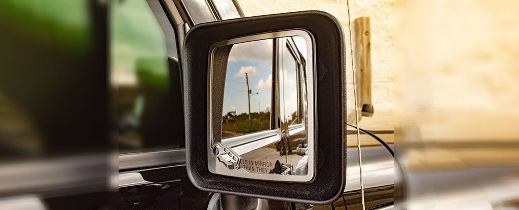 Jeep Wrangler Side View Mirror Trim 2pc [JK/JKU 2007 - 2018] American Car Craft