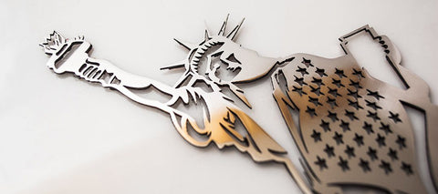 """Lady Liberty"" Statue of Liberty Emblem 1Pc 