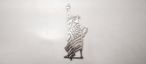 """Lady Liberty"" Statue of Liberty Emblem American Car Craft"
