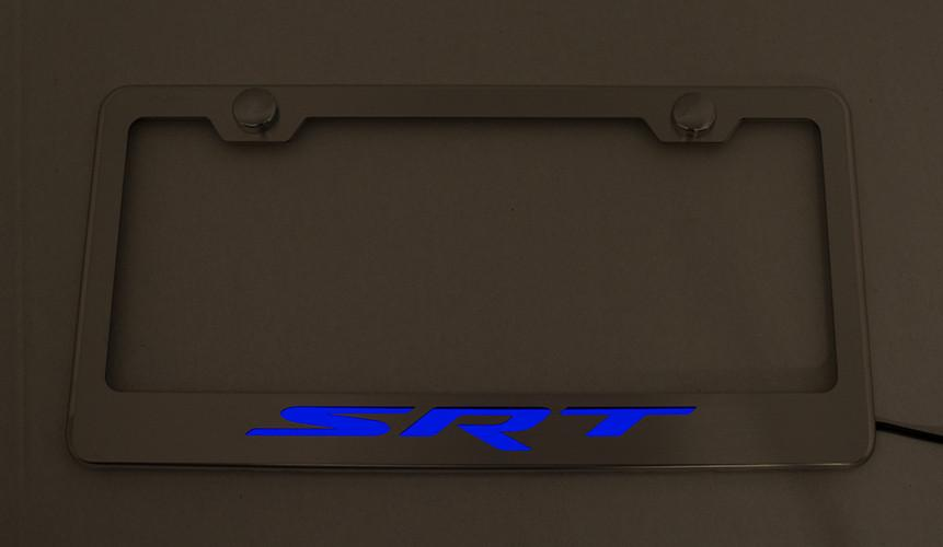 "MOPAR Custom""SRT"" License Plate Frame American Car Craft"