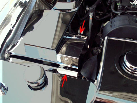 Mustang BCM Cover Polished Stand Alone V6 Only 2005-2009