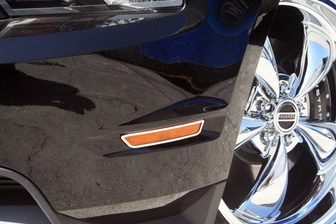 Mustang Side Marker Light Bezels 4Pc 2013-2014