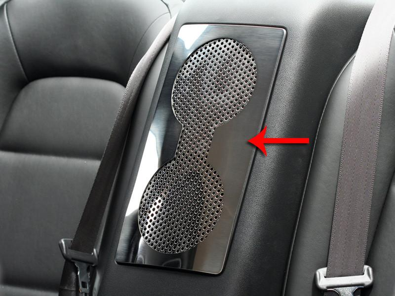 Nissan GT-R Car Speaker Trim Plate Perforated Rear 2010-2013 American Car Craft