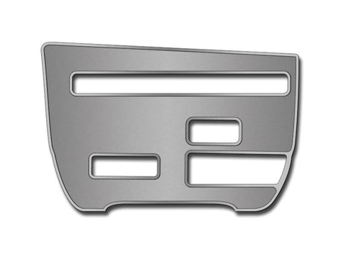 Nissan GT-R CD Player Trim Plate Brushed/Polished 2010-2013 American Car Craft