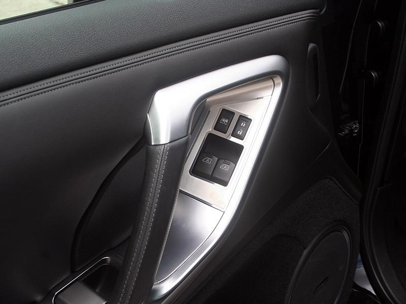 Nissan GT-R Door Handle Control Trim Plate 2Pc Brushed/Polished 2010-2013 American Car Craft