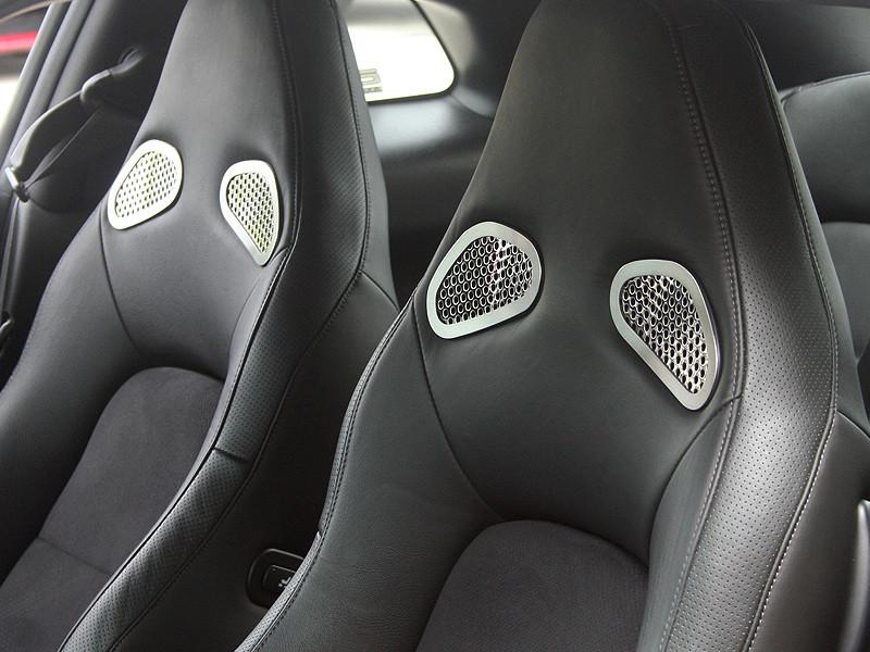 Nissan GT-R Front Seat Trim 4Pc Perforated 2010-2013 American Car Craft
