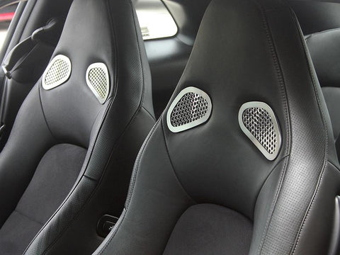 Nissan GT-R Front Seat Trim 4Pc Perforated 2010-2013