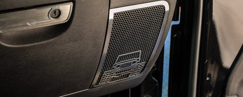 Off Road Speaker Grilles | 2PC [07-18 Jeep Wrangler JK/JKU]