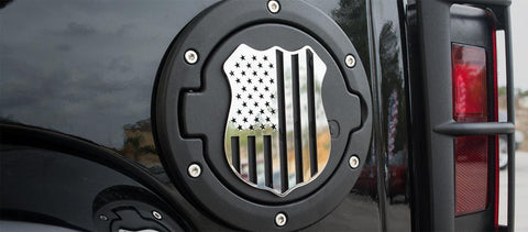 "Police Shield Emblem | 1PC, 5"" or 4"""