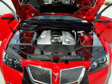 Pontiac G8 Inner Fender Covers Polished w/Aftermarket Cold Air Intake Set Up 3Pc GT 2008-2009 American Car Craft