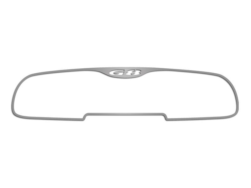 Pontiac G8 Mirror Trim Brushed Rear View On-Star GT 2008-2009 American Car Craft