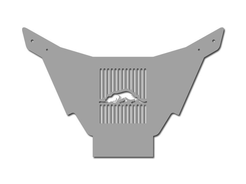 Prowler Transmission Cooler Deluxe Cover with Kat Logo Polished 1997-2002 American Car Craft