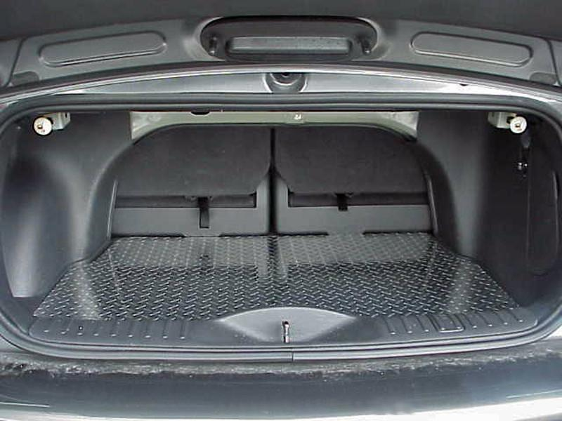 PT Cruiser Cargo Mat Diamond Plate Aluminum 2001-2005 American Car Craft