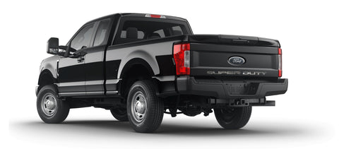 Super Duty Tailgate Letter Inserts Stainless Steel (2017 Ford F-250/350 Super Duty) American Car Craft