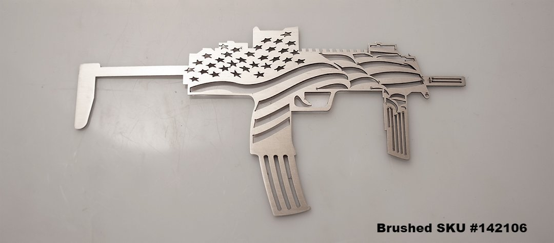 """The Operator"" Special Operations Emblem American Car Craft Brushed"