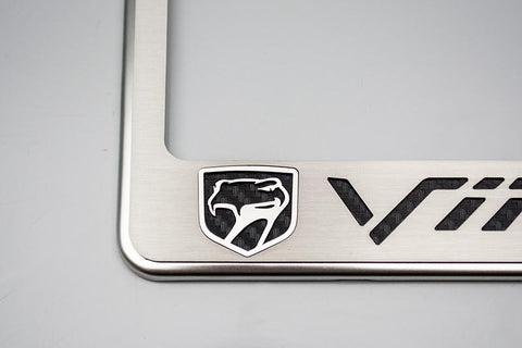 "Viper ""Sneaky Pete"" Gen 2 GTS License Plate Frame American Car Craft"