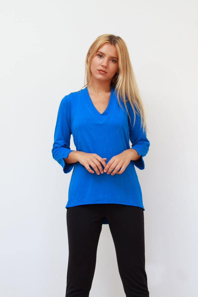 Patricia Top Cobalt Blue