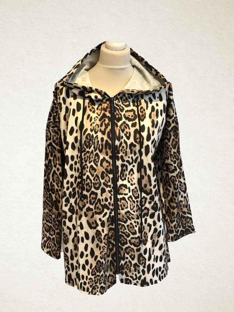 Leopard Print light rain coat