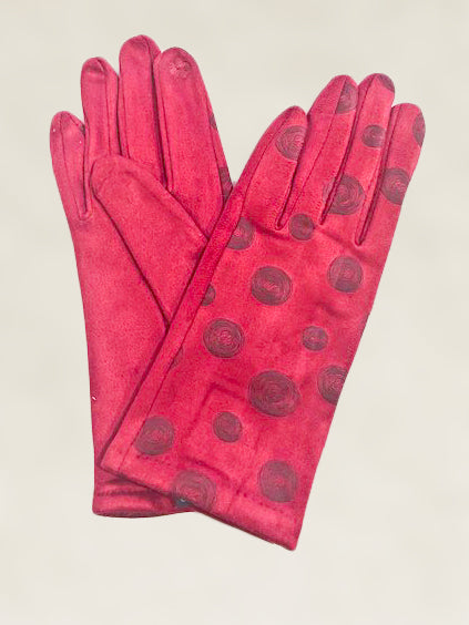 Polka Dot Gloves