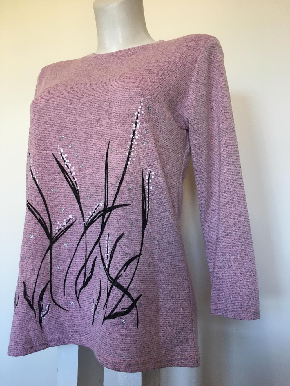 Soft Pink Light Wool Knit