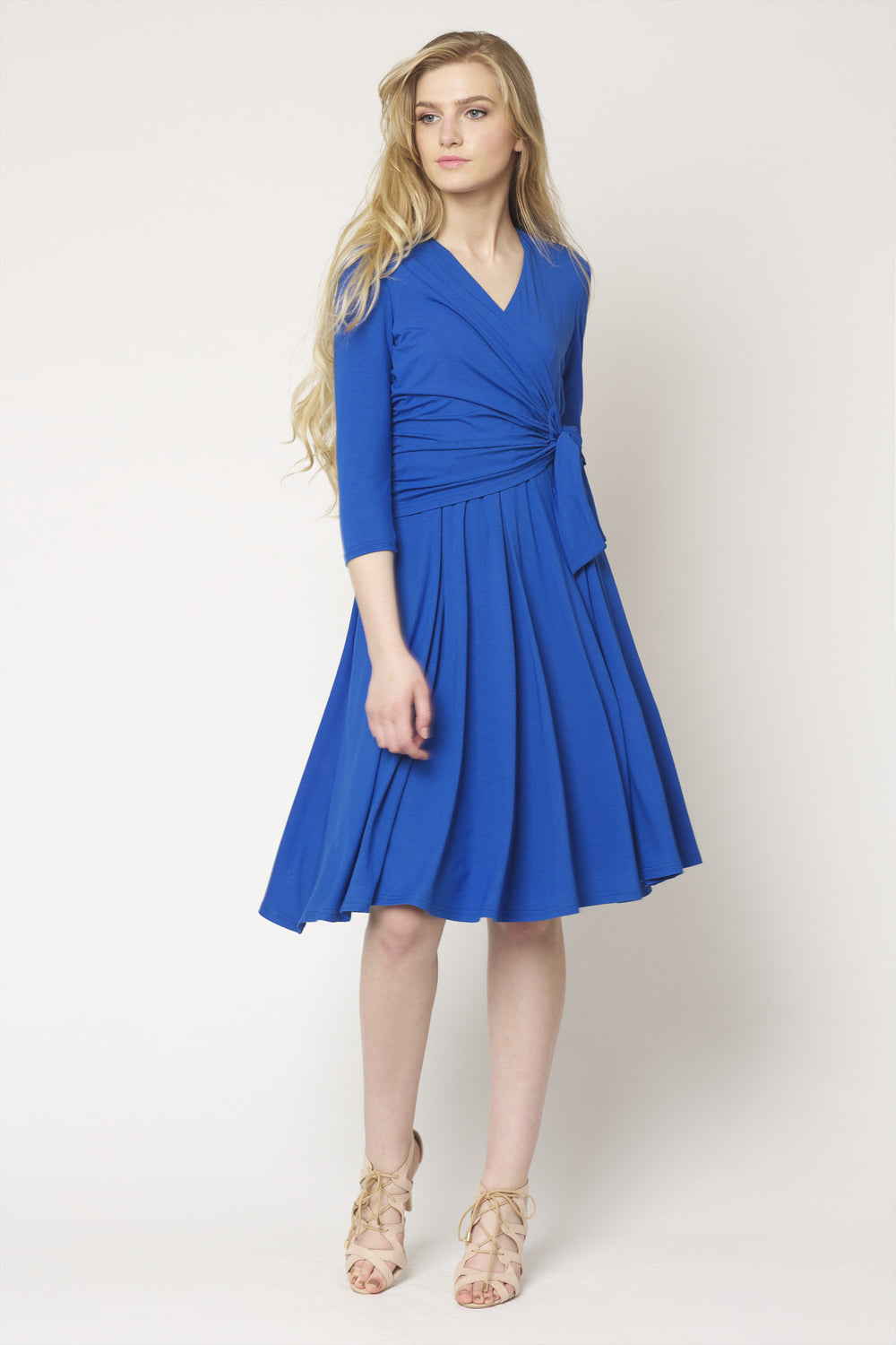 Mary Wrap Dress with Tie