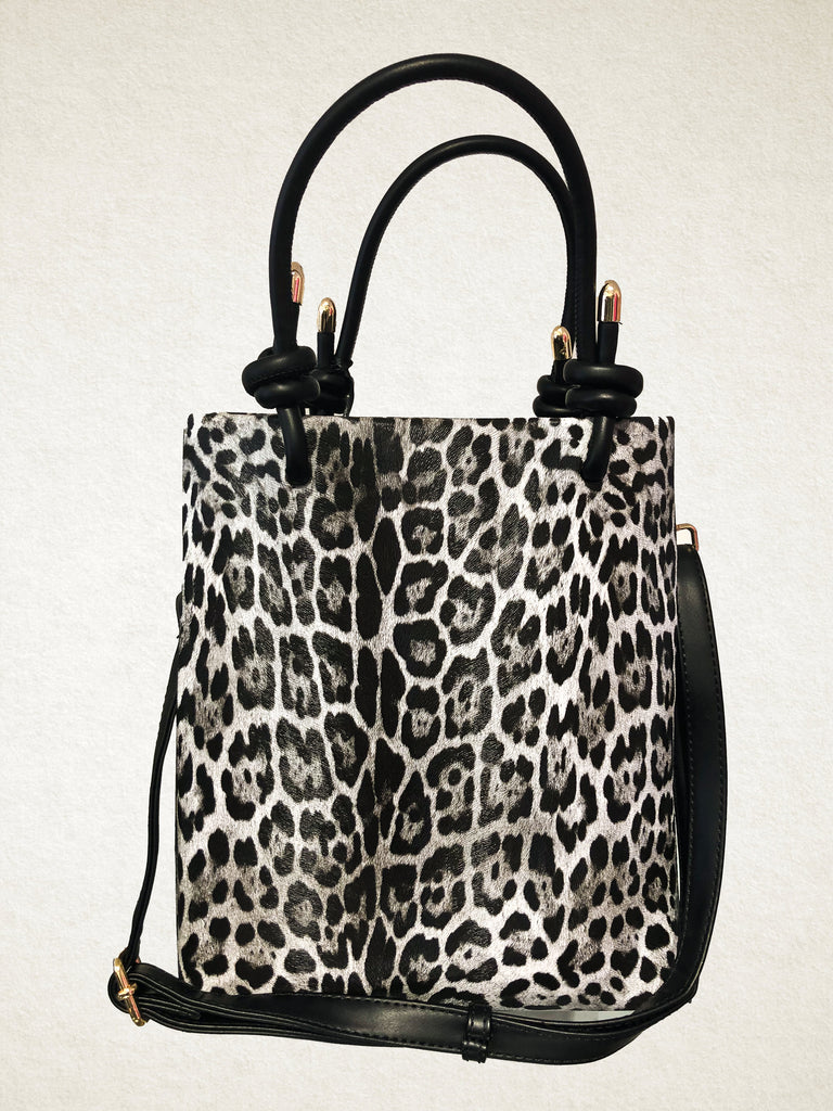 Leopard Print Medium Tote