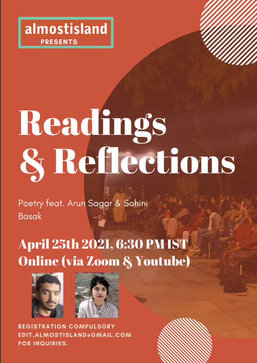 Sohini Basak to read for Almost Island Readings & Reflections!