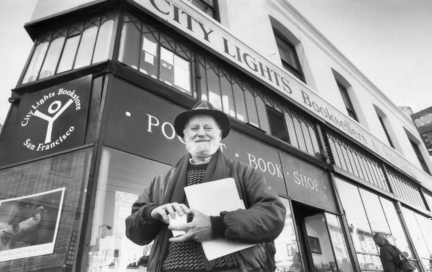 LAWRENCE FERLINGHETTI HAS DIED