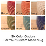 Amphibian & Reptile Lovers Custom coffee mug / choose your animal