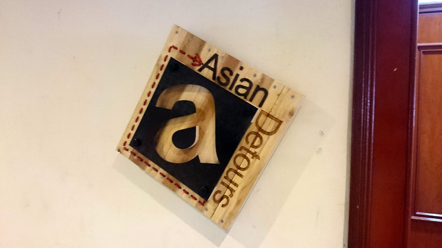 Asian Detours Upcycle Signage