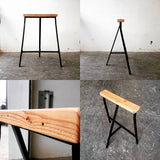 Furniture Workshop: Skinny Stool IKEA-Hack - tripleeyelid  - 2