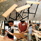 Furniture Workshop: Skinny Stool IKEA-Hack - tripleeyelid  - 1
