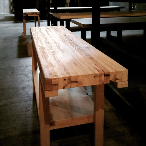 Pallet Bench IKEA-hack