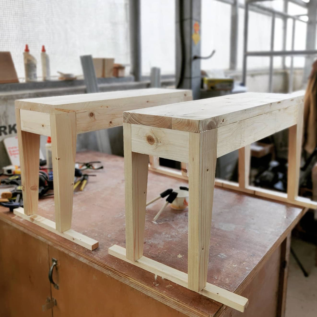 Pallet Bench Making Workshop