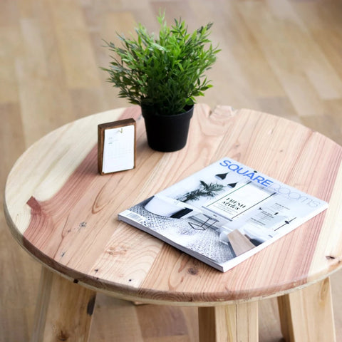 Minimalist Round Coffee Table