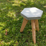 SPECIAL Furniture Workshop: Concrete and Wood Side Table
