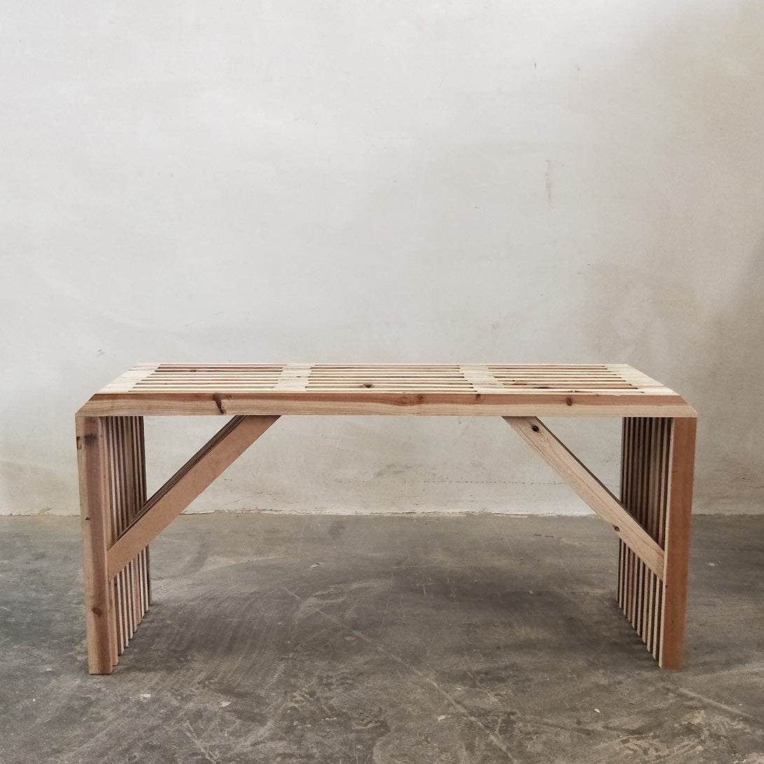 Furniture Workshop: Lattice Bench
