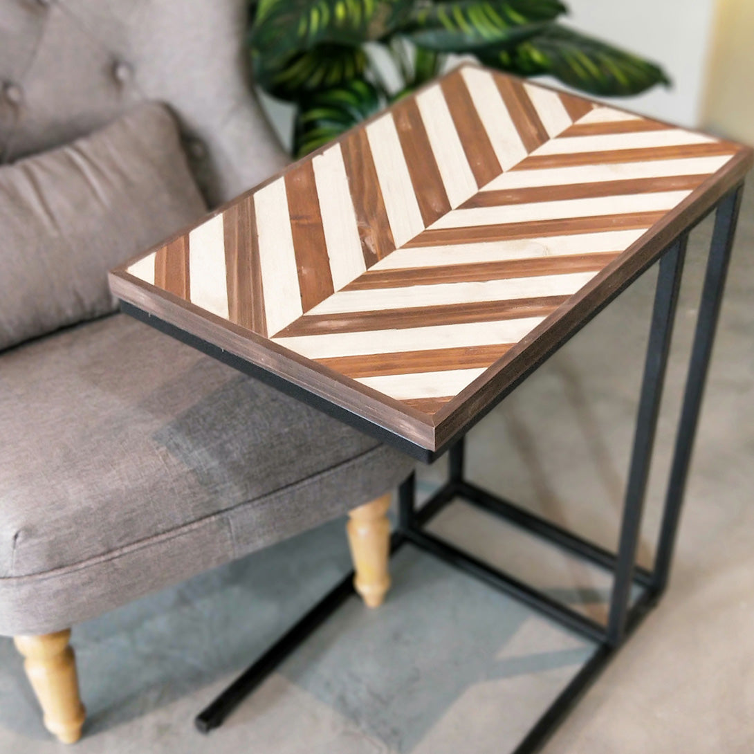 Furniture Workshop: Herringbone Side Table