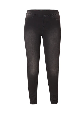 Yesta by X-two<br>jeans broek Tessa zwart