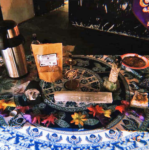 Glo Up Spirituality and Wellness Event Birmingham Cacao Ceremony