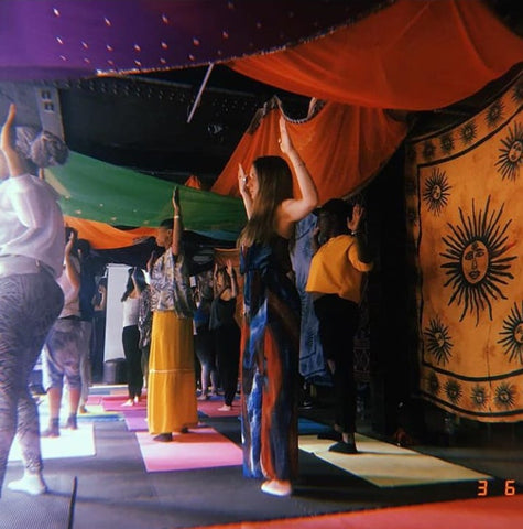 Glo Up Spirituality and Wellness Event Birmingham Kemetic Yoga