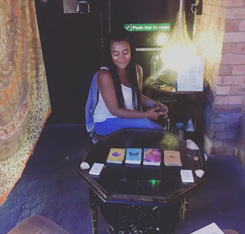 Glo Up Spirituality and Wellness Event Birmingham Tarot