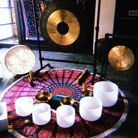 Glo Up Spirituality and Wellness Event Birmingham Sound Bath